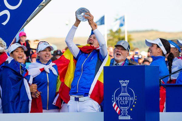Carlota Ziganda Solheim Cup